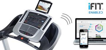 iFit LIVE on C700 treadmill