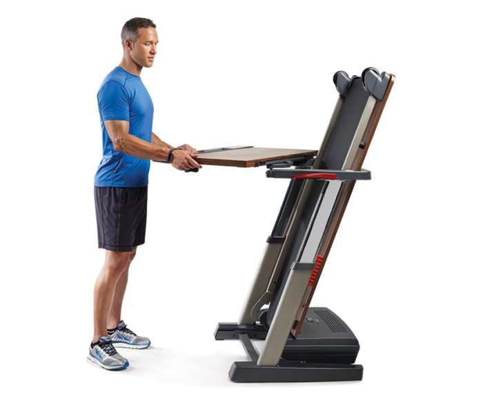 nordectrack treadmill desk folding