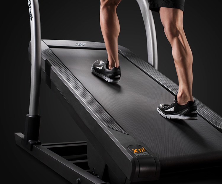 best treadmill for bad knees - incline trainer