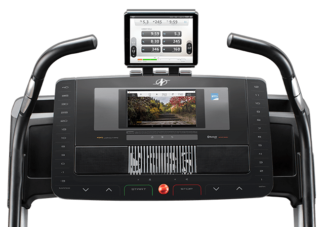 nordictrack x11i incline trainer review - console