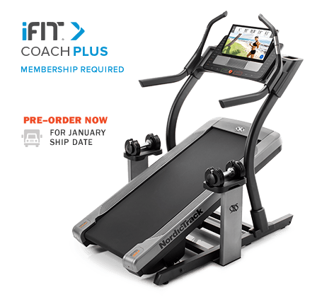 ifit Coach Plus on Nordictrack x22i