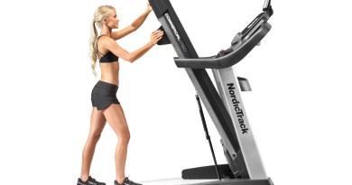 do nordictrack treadmills fold up