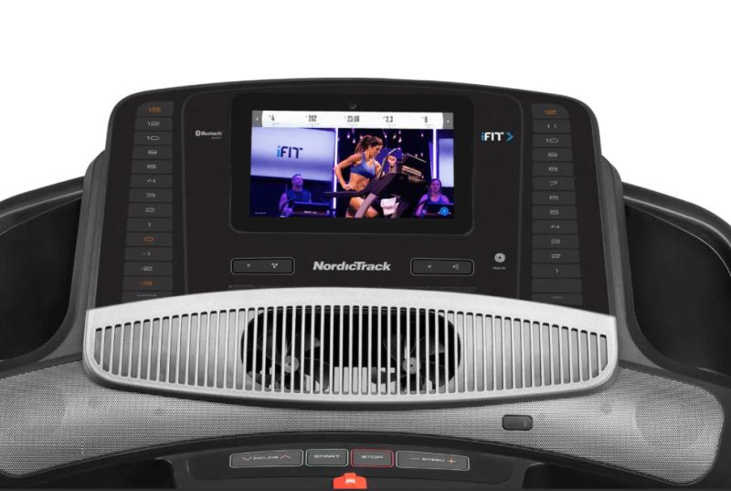 nordictrack 1750 treadmill console