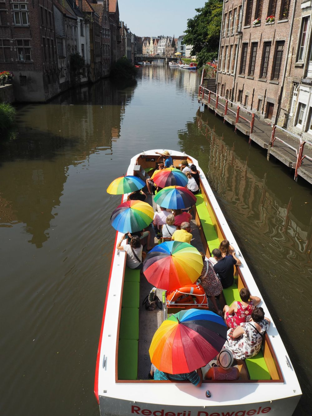 Boat tour in Ghent. 15 things to do in Ghent, Belgium | Belgium travel | Ghent travel | Ghent itinerary | Explore Ghent |