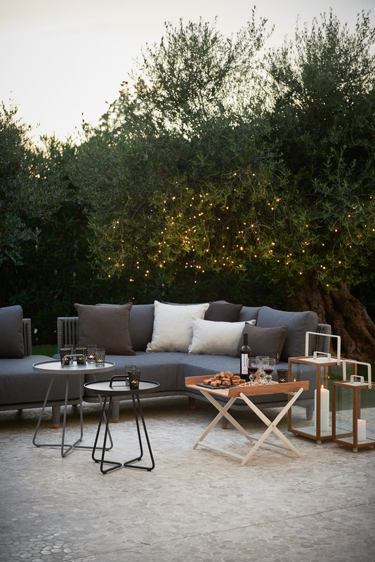 cane line moments modul outdoor sofa