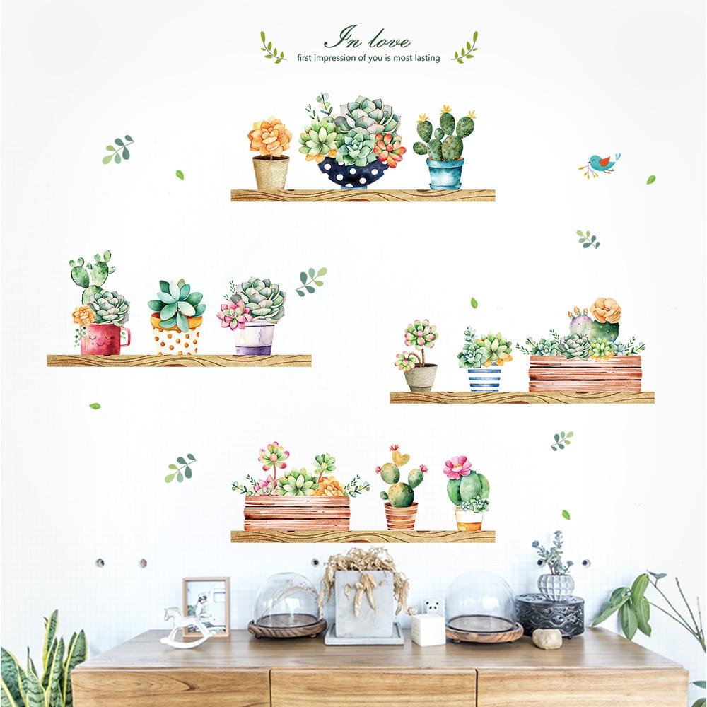 Sticker Kitchen Kitchen Shelves Utensils Wall Decal Wall Art Dining Room