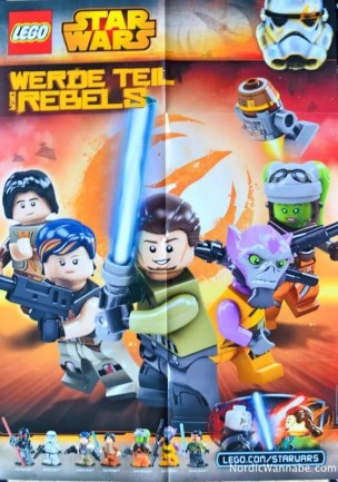 Lego Star Wars Poster exklusiv /exclusive