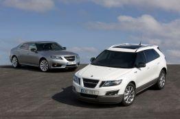 Saab 9-4x und Saab 9-5
