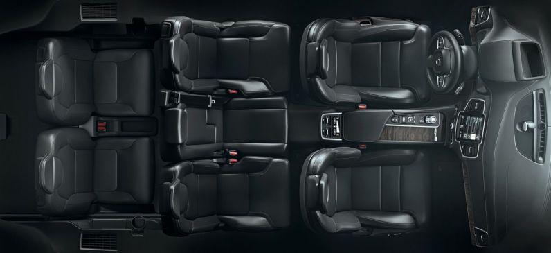 Bis zu 3 Sitzreihen gibt es im neuen XC90