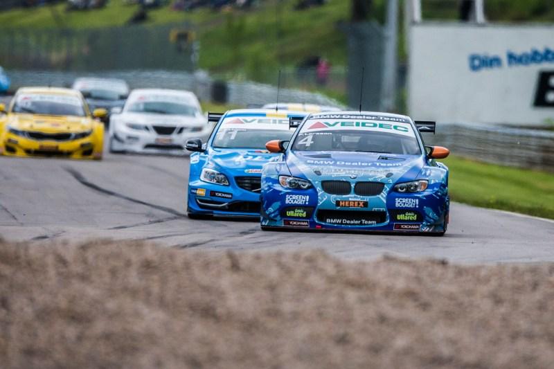 Fredrik Larsson auf WRC/BMW