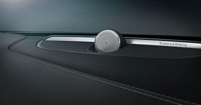 Bowers & Wilkins Audiosystem im Volvo XC90. Bild: Volvo Cars