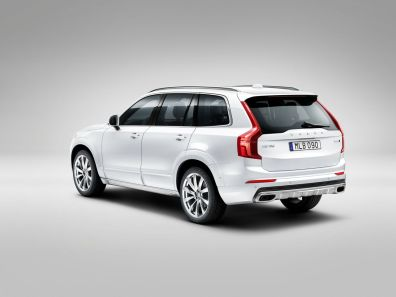 Der neue Volvo XC90 mit Rugged Luxury Kit. Bild: Volvo Cars.