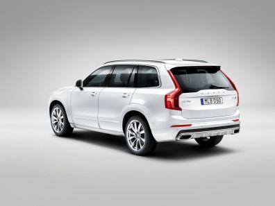 Der neue Volvo XC90 mit Rugged Luxury Kit. Bild: Volvo Cars.