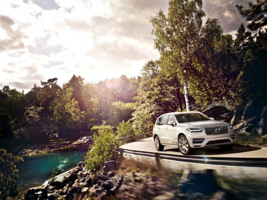 Der neue Volvo XC90 mit Rugged Luxury Kit