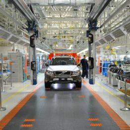 Volvo Werk Daqing, Montage Volvo XC90 Classic. Bild: Volvo Cars