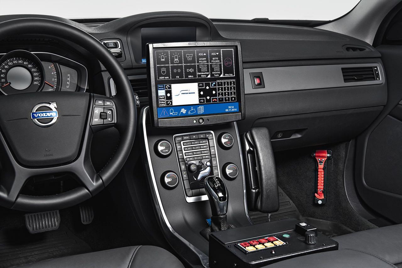 Interieur, V70 Polizeifahrzeug - nordicwheels