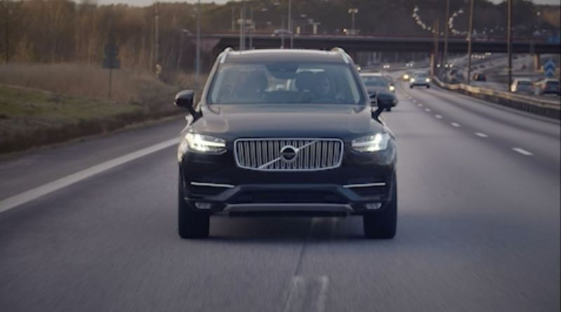 Volvo Drive Me Projekt - Autonomes Fahren