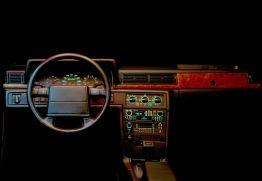Cockpit Volvo 780 Coupe. Bild: Volvo Cars