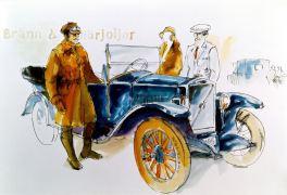 Volvo Jakob, Werbung 1927. Bild Volvo Cars.