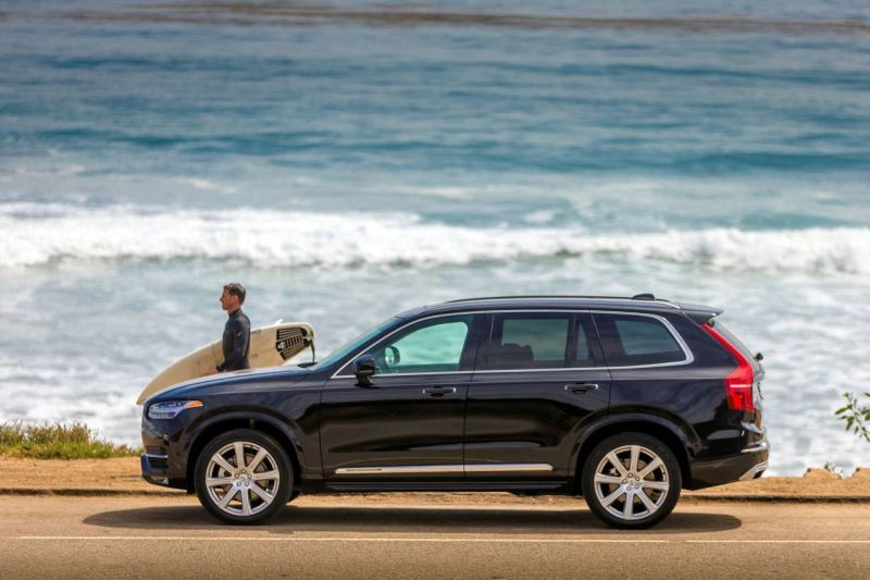 Bestseller: Volvo XC90. Bild Volvo Cars.