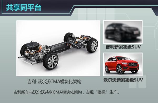 CMA Plattform. Volvo XC40 und Geely Modell