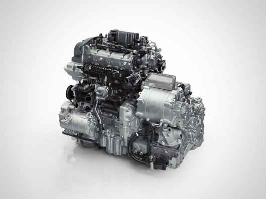 Drive-E 3-cylinder Hybrid power pack. Picture: Volvo PV