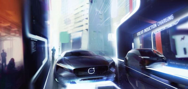 Volvo Cars' vision of an electric future. Picture: Volvo PV