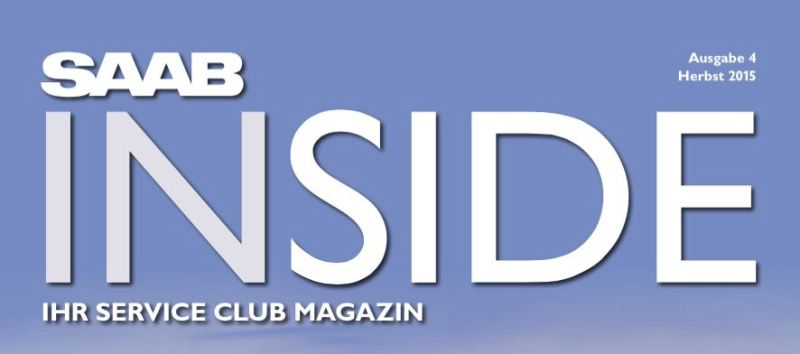Saab Kundenmagazin. Ausgabe 4.