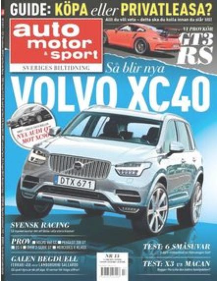 Neuer Volvo XC40 2017 ?