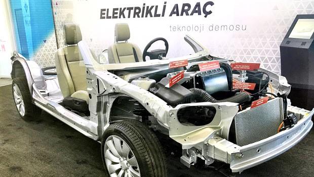 Tubitak Elektroauto auf Saab Basis