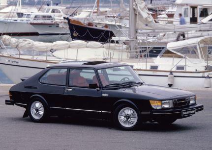 Saab 900. Bild: Saab Automobile