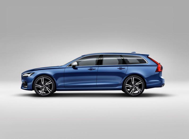 Volvo V90 R-Design Studio. Bild: Volvo PV