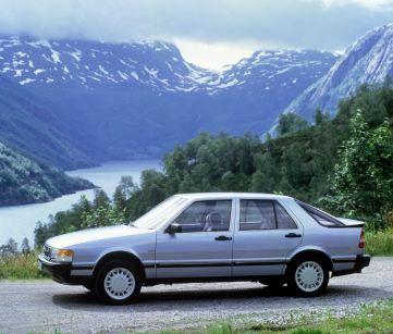 Saab 9000. Bild: Saab Automobile
