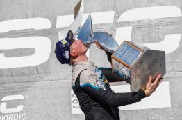 Rickard Göransson STCC vinnare 2016. STCC round 7 Knutstorp 2016-09-23 Foto Tony Welam
