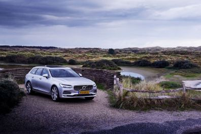 Volvo V90. Bild: Volvo Nederland