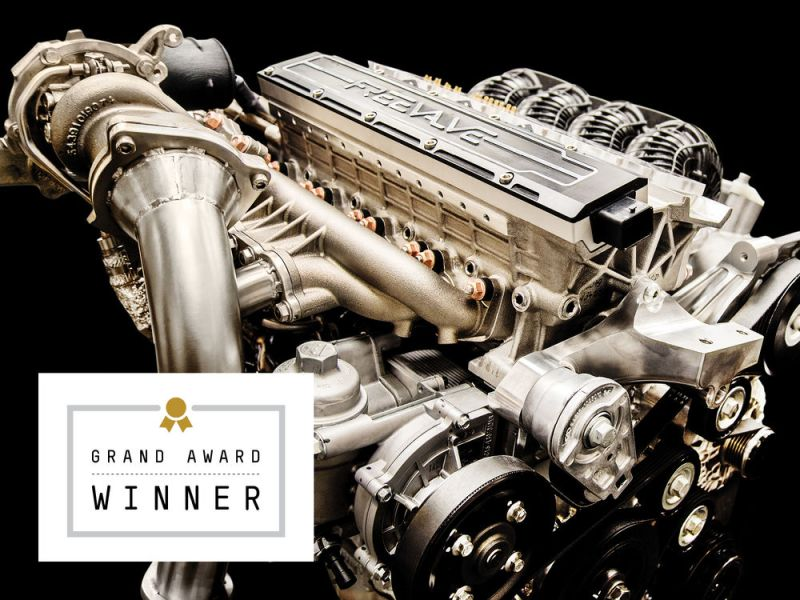 Free Valve Technologie. Bild: Koenigsegg AB