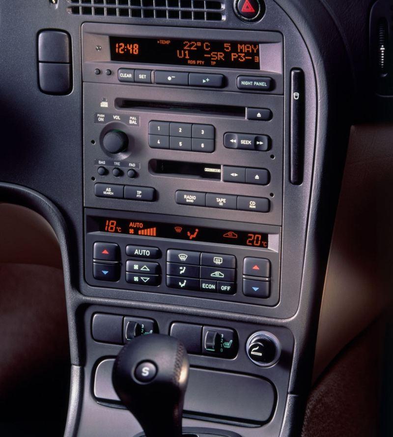 Eingefaltet und im Ruhezustand. Foto: Saab Automobile AB