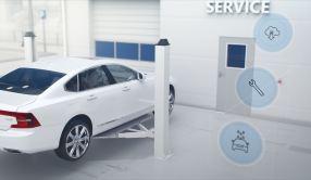 Wartung on demand. Bild: Volvo Cars