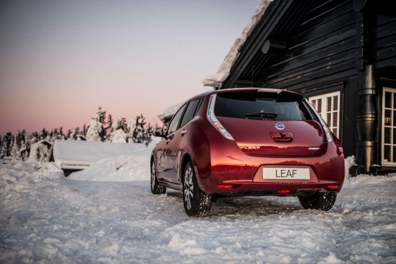 Nissan Leaf. Beliebtestes Elektroauto in Schweden 10/2016. Bild: Nissan