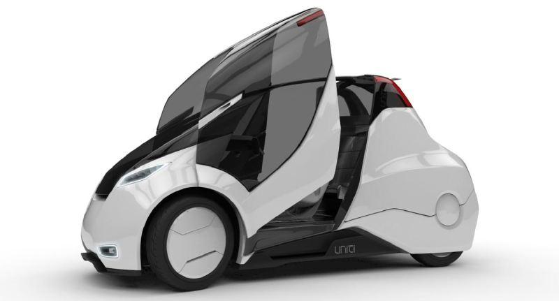 Uniti, Elektroauto Projekt aus Lund. Bild: Uniti AB
