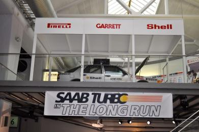 Die Saab Talladega Sondershow.