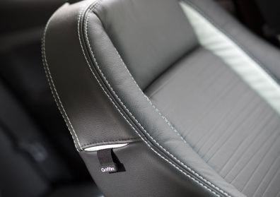 Sitze mit kleinen Griffin Nähern. Bild: Saab Automobile AB