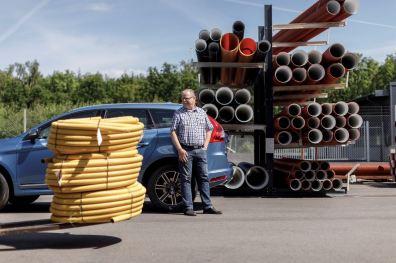 Jetzt in Schweden bei Göran Andersson in Ängelholm. Bild: Volvo Cars