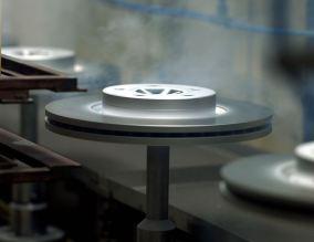 Bremsscheiben aus der Floby-Fabrik. Bild: Volvo Cars