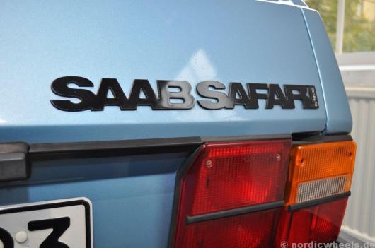 """""""by Setrab"""". Typenschild des 900 Safari"""