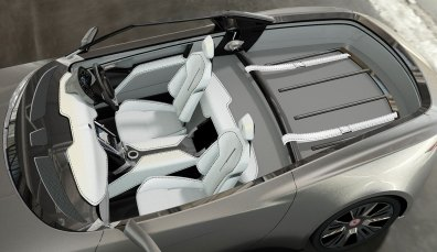 Interieur Entwurf Alcraft GT. Bild: Alcraft Motor Company