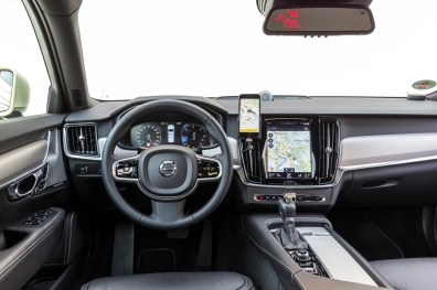 Innenraum des Volvo S90 Taxi. Bild: Volvo Cars Germany