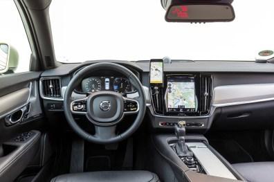 Innenraum des Volvo S90 Taxi. Bild: Volvo Cars Germany