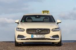 Der große Volvo als Taxi. Bild: Volvo Cars Germany