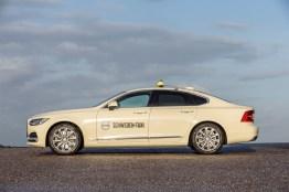 Schweden-Taxi. Bild: Volvo Cars Germany